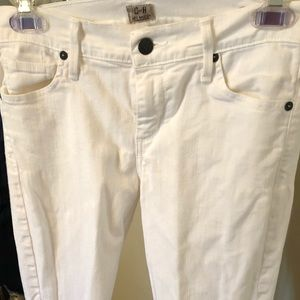Citizens of Humanity white denim jeans